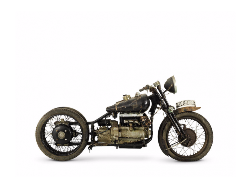 The ex- Hubert Chantrey 1938 Brough Superior 800cc BS4