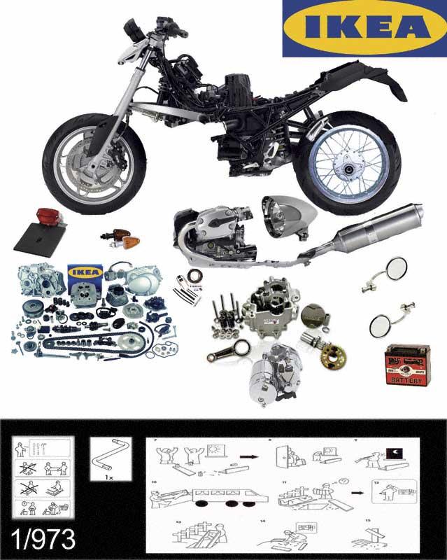 moto1203 branchenkrise bmw und ikea kooperieren bei motorradbausatz. Black Bedroom Furniture Sets. Home Design Ideas